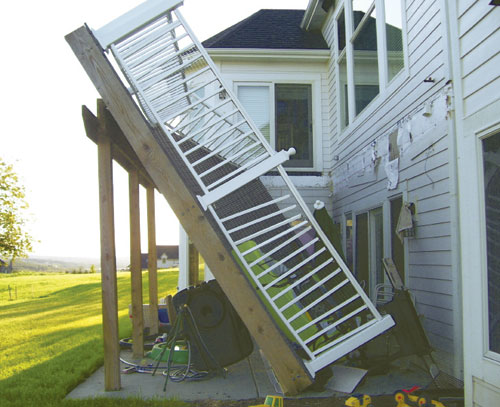 Why you need a permit when building a deck custom deck for What do u need to build a house