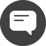 text message bubble speech icon